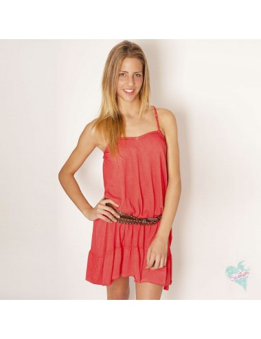 Trenza Dress Coral