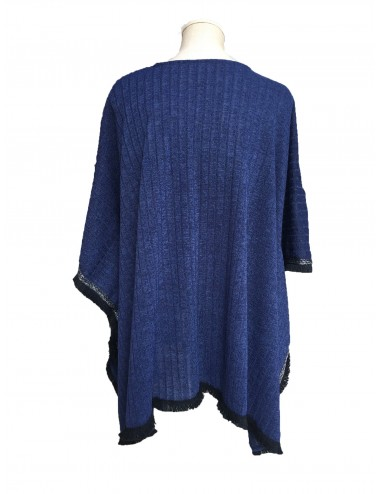 BIRKIN PONCHO WINTER AZUL